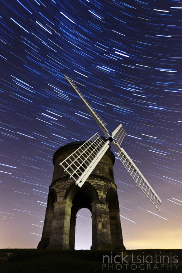 Star Trails at Chesterton Windmill