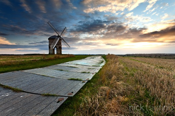 One Second Long Exposure at Chesterton Windmill