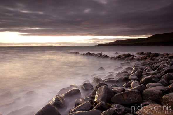 Sunset at Kimmeridge - Dorset