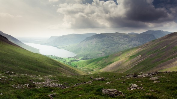 Wastwater from Scafell.